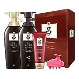 RYO Heukwoon Root Volume Shampoo, Conditioner, Scalp Massaging brush set