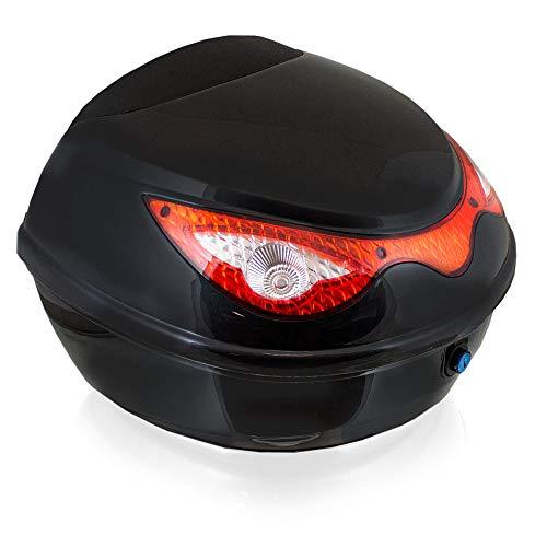 BITUXX® Topcase Motorradkoffer Helmbox Für Motorrad Roller Mofa Quad AVT aus ABS 22L
