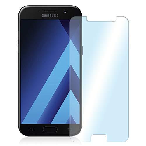 NAUC Posten Glas Schutz Folie Panzerglas Bildschirmschutz Handy 2X Schutzglas Tempered, Handy Modelle für:Samsung Galaxy A3 2017