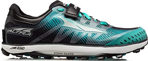 ALTRA Women's ALW1952G King MT 2 Trail Running Shoe, Teal/Black - 9.5 M US