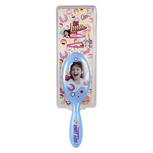 SOY LUNA PINK BRUSH AND NECKLACE