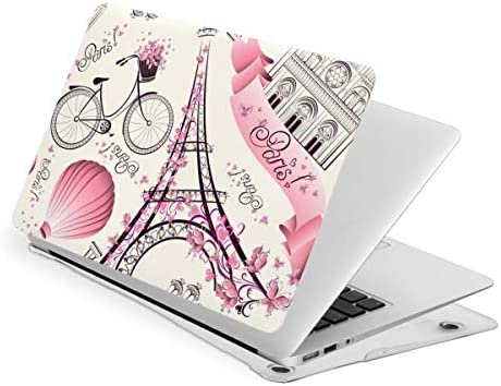 Pink Paris Eiffel Tower MacBook Air 13 Inch Case 2020 2019 2018 New Version A1932 A2179 Plastic product image