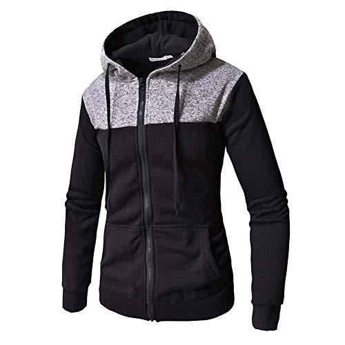 Sweat-Shirt_Zone Zip Up Sherpa Encapuchonné Manteau D'éPissure Cordon De Serrage Veste Polo Nouveau XL 2XL 3XL