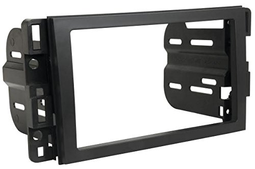 SCOSCHE GM1598AB Single/Double DIN Car Stereo Dash Kit for 2006-Up Chevrolet Impala/Tahoe