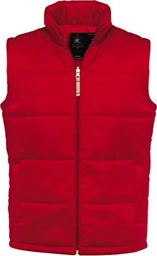 UNVERZICHTBAR! B & C Bodywarmer Men , da können die kalten Tage kommen! Atraktive Farben , Größe M - XXL. XL,rot