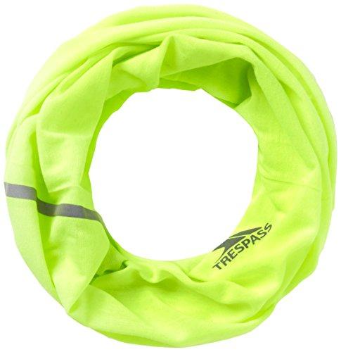 Trespass–Giacca Quay Scaldacollo, Uomo, Quay, Hi Visibility Yellow, Taglia Unica
