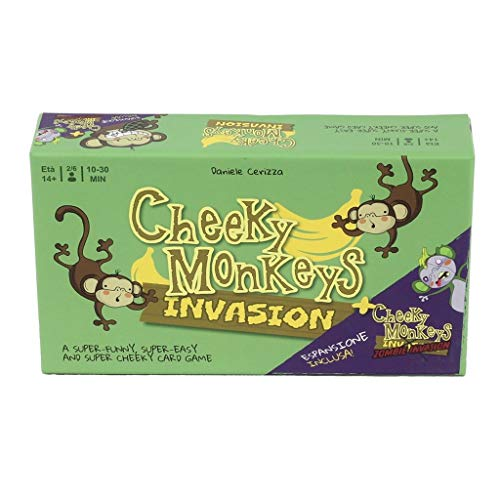 Tambú Cheeky Monkeys Invasion + Zombie Invasion