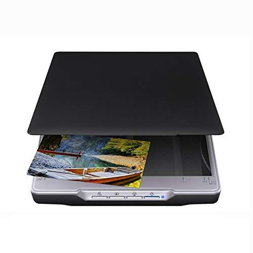 ZLGP Flachbettscanner Office Multifunktionsdrucker 4800Dpi, A4 Drucker USB 2.0 Scanner Windows Mac Kompatibel Kopierer Stromversorgung üBer USB FüR Office Library Webkonferenzen Und Fernunterricht