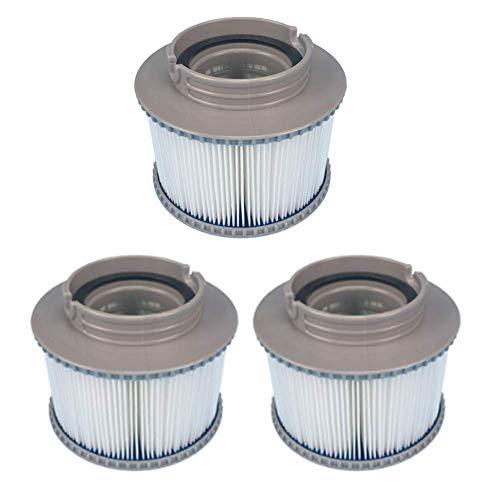YanBan MSPA Ersatzfilter für FD2089, Filterkartuschenpumpe, passend für alle gängigen MSPA Whirlpools, 3 Stück