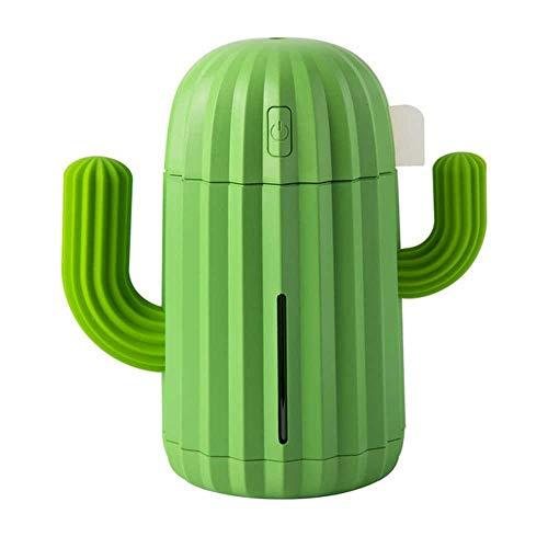 YSNMM 340Ml USB-cactus luchtbevochtiger timing aromatherapie oliediffuser Essential Mist Fogger mini aroma verstuiver voor thuis