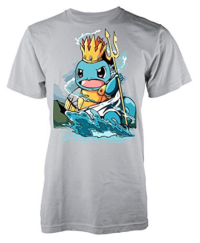 Ramgfx King of The Seas SquirtleAdult Kids Unisex T Shirt