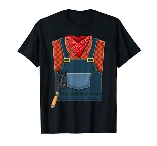 Disfraz De Granjero De Halloween Camiseta