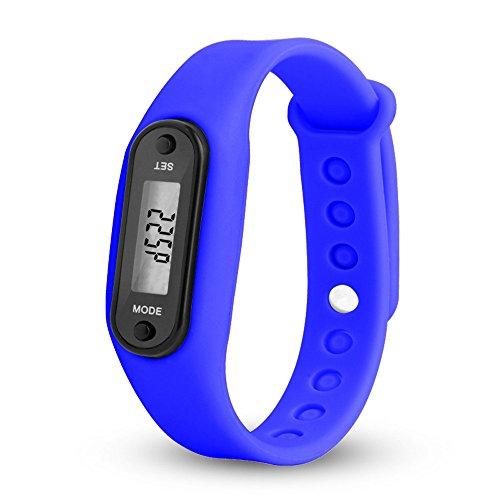 Great Deal! Muranba Run Step Watch Bracelet Pedometer Calorie Counter Digital LCD Walking Distance
