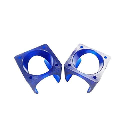 Accesorios de impresora 2 unids / lote V5 cubierta de ventilador de moldeo por inyección de refrigeración POM plástico azul cubierta de ventilador uso 3010 ventilador 3D impresora piezas de bricolaje