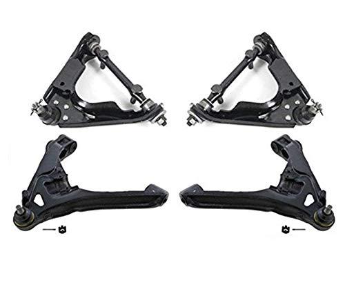 Upper & Lower Control Arms Bushings Ball Joints fits 00-03 Durango 00-04 Dakota 4 Wheel Drive