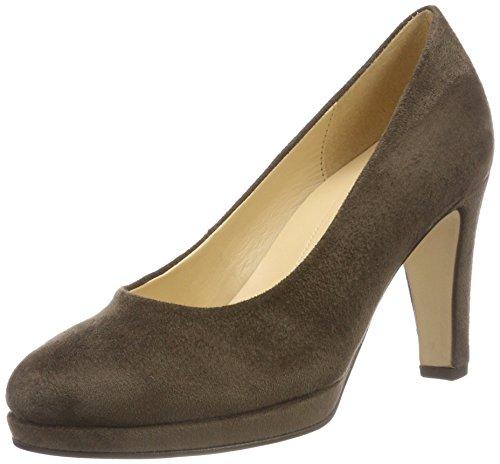Gabor Shoes Damen Fashion Pumps, Grau (Dark Fango 43), 39 EU
