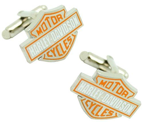 masgemelos Manschettenknöpfe Harley Davidson silber Cufflinks
