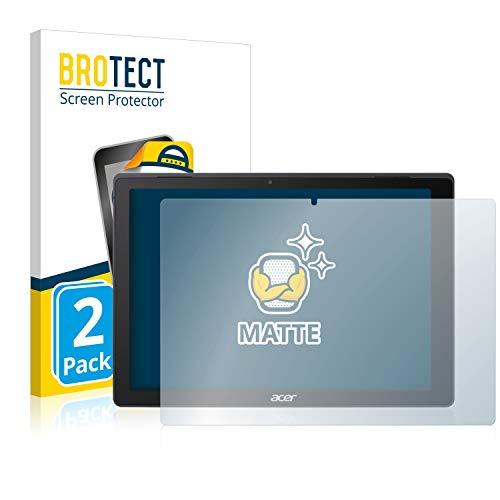 BROTECT 2X Entspiegelungs-Schutzfolie kompatibel mit Acer Switch 5 Bildschirmschutz-Folie Matt, Anti-Reflex, Anti-Fingerprint
