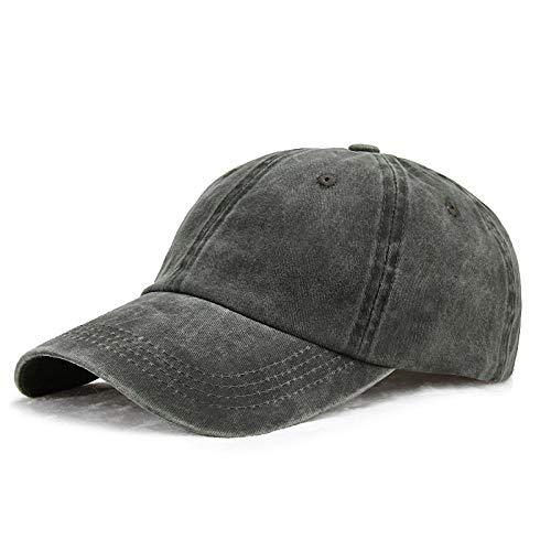 YYT Sombrero de otoño Lavado Denim Gorra de béisbol Gorra