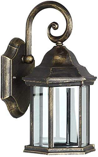Europese bronzen wandlamp - decoratieve verlichting voor de gang veranda balkon gang buitenshuis, retro stijl, laat je van het leven houden.