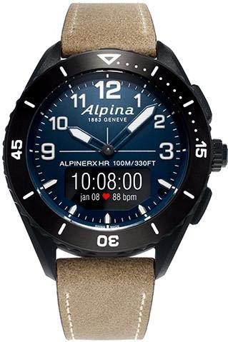 Alpina Geneve ALPINERX Alive AL-284LNN5AQ6L Smartwatch Swiss Made