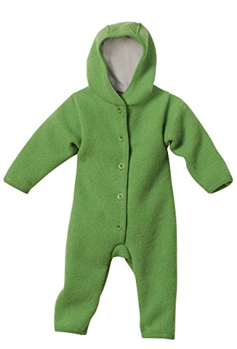 Disana 36109XX - Walk-Overall Wolle grün, Size / Größe:62/68 (3-6 Monate)