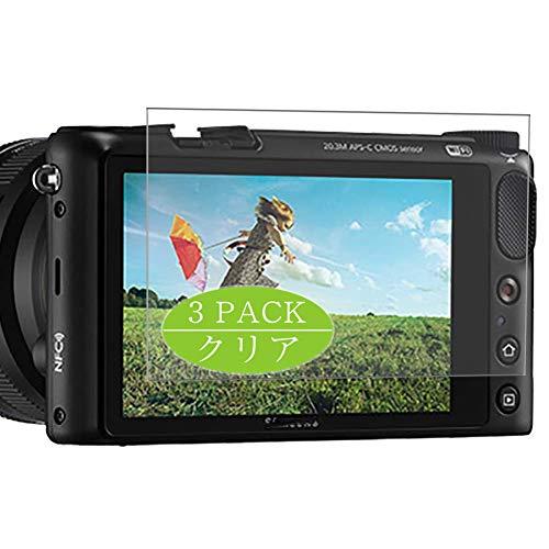 Vaxson TPU Pellicola Protettiva, compatibile con Samsung NX2000 Digital Camera, Screen Protector Pacco da 3 [ Non Vetro Temperato ]