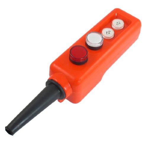 Rouge Blanc Lampe LED haut-basstencils Palan à main fonctionner à interrupteur 12 V