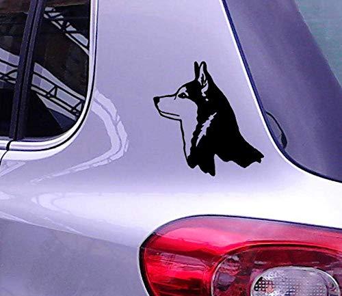 Wandaufkleber Lone Wolf Hound Hund Eskimo Huskies Autoaufkleber Für Lkw Suv Fenster Stoßstange Laptop Kajak Haustier Home Car Decor Vinyl Aufkleber 22 * 23Cm