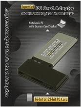 Digigear 16bit / 32 bit CardBus PCMCIA PC Card to 34 mm ExpressCard Adapter/Reader/Writer