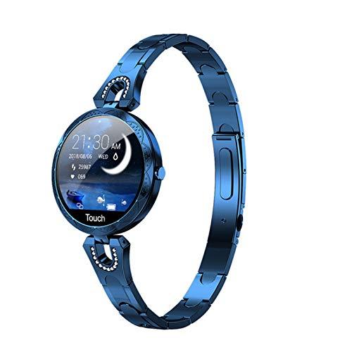 Gulu 2021 Lady Watch AK15 Smart Watch Women IP67 A Prueba De Agua Smartwatch Presión Arterial Rate Cardy Fitness Tracker Bracelet Vs H8 KW10,D