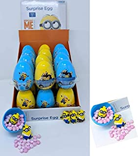 Certified Kosher Surprise Egg Despicable Me minions candy and toy (Happiness)