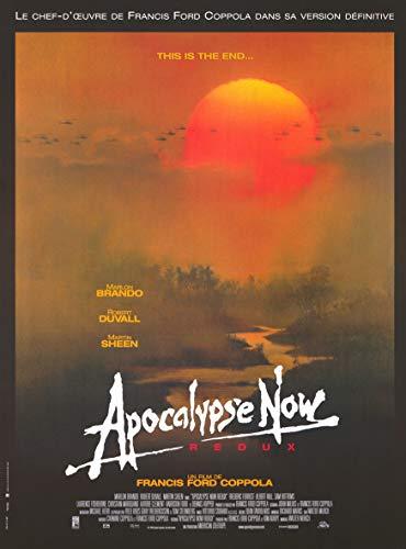 Apocalypse Now Redux - Affiche de Film Originale - 40x53 cm - Pliée