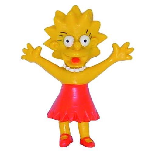Simpsons Mini Figure Lisa 6 Cm Comansi