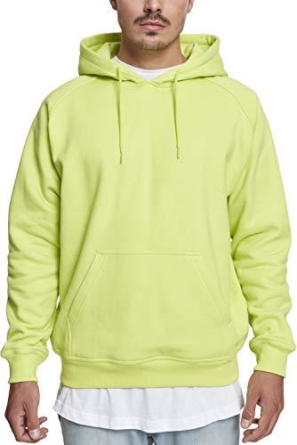 Urban Classics Herren Kapuzenpullover Blank Hoodie, Farbe frozen yellow, Größe 3XL