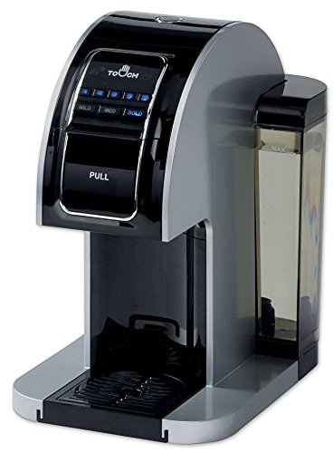 Touch Choice Single Serve Coffee Brewer - Silver Coffee...