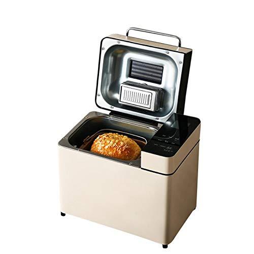 Panificadora Automática Máquina para hacer pan Horneado rápido Funciones predefinidas Fastbake Máquina para hacer pan Fácil de limpiar Diseño compacto Acero Inoxidable Herramientas de cocina
