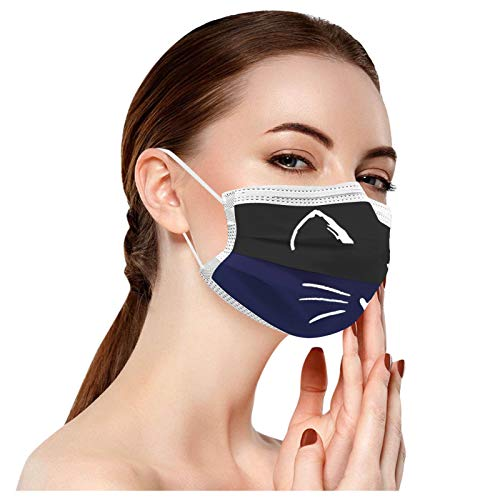 DAY8 10 Stück Erwachsene Kind Universal Christmas Print Mundschutz zum Schutz Gesichts Mundschutz Einweg 3Ply Ear Loop Breathable Mundschutz