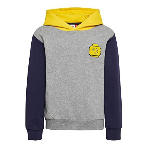 Lego Wear Lego Boy Lwsiam 652-Sweatshirt Felpa, Grigio (Grey Melange 921), 10 (Taglia Produttore: 110) Bambino