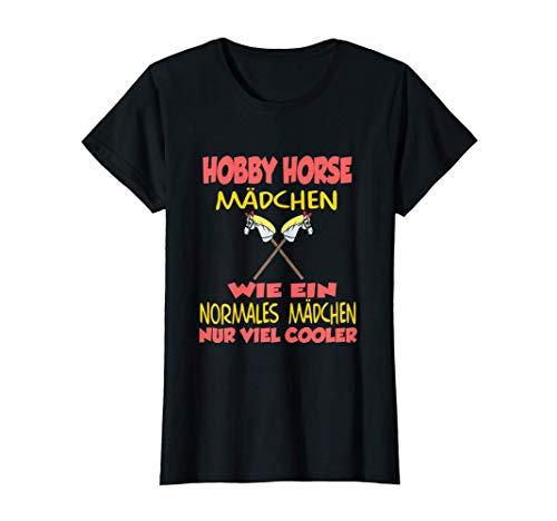 Hobby Horsing Reiterin Pferd Pferdebesitzerin Pferdehalterin T-Shirt