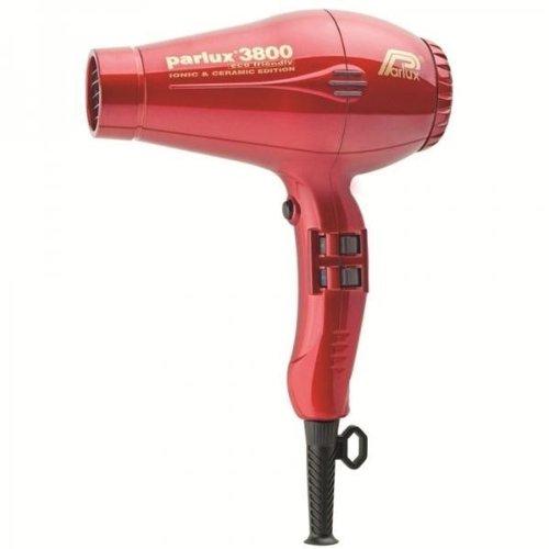 Parlux–3800iónica cerámica AVD Edition Eco Friendly secador de pelo rojo