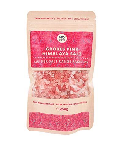 Gros sel rose d´Himalaya, gros grain, (sel de gemme, cristaux de sel du Pakistan), 250 g