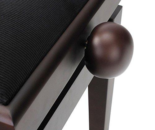 Classic Cantabile DP-50 RH E-Piano SET (Digitalpiano mit Hammermechanik, 88 Tasten, 2 Anschlüsse für Kopfhörer, USB, LED, 3 Pedale, Piano für Anfänger, Pianobank, Kopfhörer, Klavierschule) Rosenholz - 7