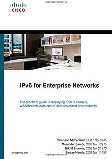 IPv6 for Enterprise Networks (Networking Technology)