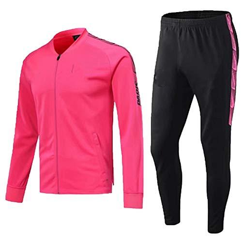 Jersey de fútbol SSSS-int-Gěrmain - Chándal de fútbol con cuello alto y manga larga, ropa deportiva, uniforme y pantalón profesional, para viajes de ocio, S