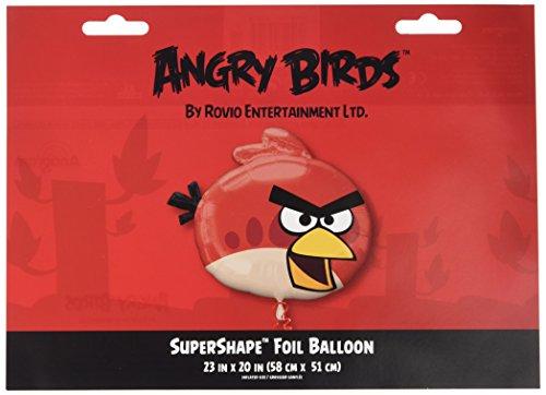 Generique - Angry Birds Aluminium Luftballon