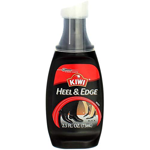 Kiwi Heel/Sole Edge Color Black 2.5 oz (Pack of 2)
