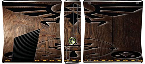 Zelda Triforce Vinyl Decal Sticker Skin by EandM for Xbox 360 Slim (2010)