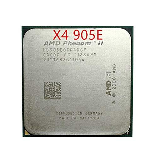 Phenom II X4 905E CPU 2.5GHz/6MB L3 Cache AM3 PGA938, Desktop Quad Core CPU Scattered Pieces Processor
