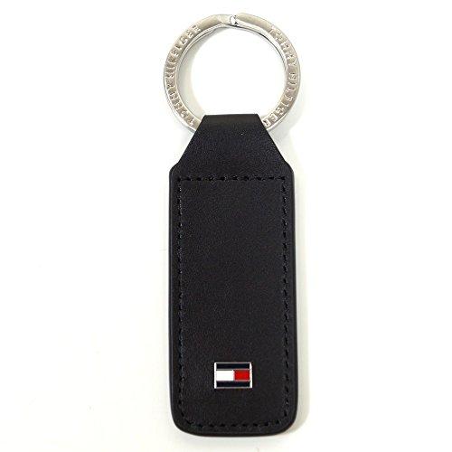 Tommy Hilfiger Eton, AM0AM01991-002 - Portachiavi di colore nero